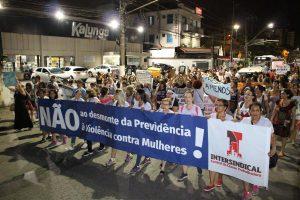 08/03/17 – Dia Internacional da Mulher – ato em Santos