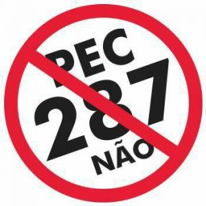 Resistência à PEC 287 adia calendário do governo na Câmara