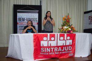 23/03/17 – Abertura do 8º Congresso do Sintrajud, no auditório da sede