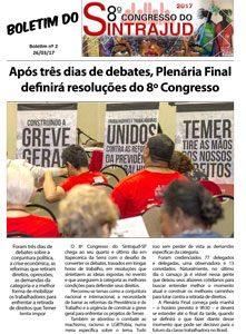 Após três dias de debates, Plenária Final definirá resoluções do 8º Congresso