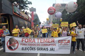 Trabalhadores prometem voltar às ruas para derrotar reformas de Temer