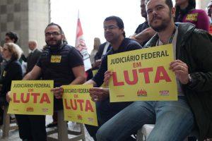 19/04 – Ato no Fórum Trabalhista Ruy Barbosa (Barra Funda)