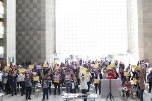 JT: Em ato, servidores chamam Greve Geral contra reformas de Temer
