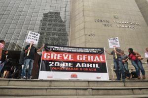 Servidores preparam a greve geral com atividades nos fóruns