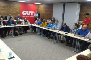 Centrais Sindicais se reúnem para definir agenda de lutas contra as reformas