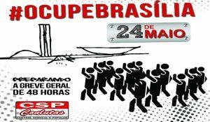 #OcupeBrasília: Sintrajud vai participar da caravana a Brasília