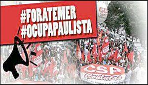Centrais convocam atos nesta quinta (18) pelo 'Fora Temer' e contra reformas