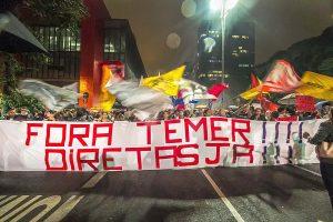 18/05/17 – Ato Fora Temer na av. Paulista no Masp
