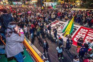 Manifestação em São Paulo pede saída de Temer