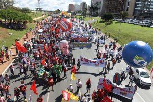 24/05/17 – Marcha a Brasília – Fora Temer