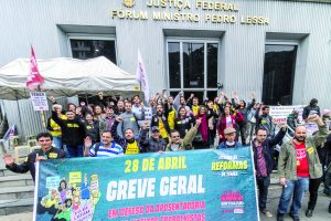 28 de abril: Judiciário Federal de São Paulo também parou