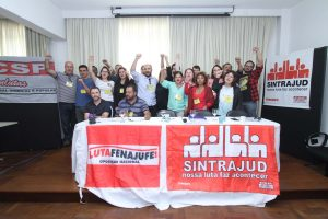 24/06/17 – Posse da nova diretoria executiva do Sintrajud – Triênio 2017/2020