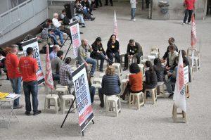 07/07/17 – Assembleia geral no Fórum Trabalhista Ruy Barbosa