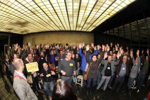 Oficiais de Justiça do TRT fazem greve contra esvaziamento das centrais e desvio de função