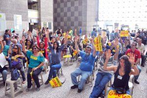30/08/17 – Assembleia setorial no Fórum Trabalhista Ruy Barbosa