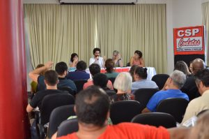 Assembleia Geral elegeu delegados para o 3º Congresso da CSP Conlutas