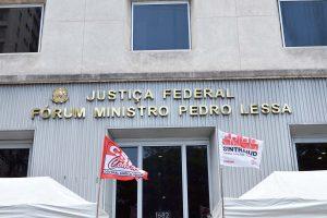 6 de junho – Assembleia setorial no Fórum Pedro Lessa