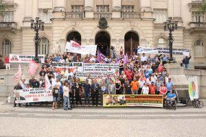 Servidores da Baixada retomam luta contra reforma da Previdência