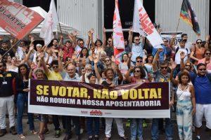 Previdência: luta contra reforma já tem calendário nacional