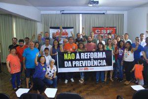 Servidores aprovam estado de greve contra a reforma da Previdência