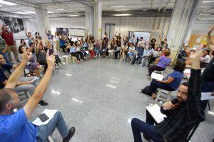 Servidores do TRE aprovam pauta de reivindicações à nova administração