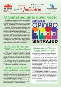 27/02/18 – Boletim do Judiciário Especial TRE – edição 197
