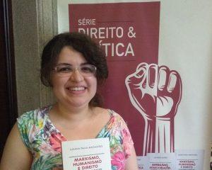 Servidora do TRF lança livro sobre Marxismo, Humanismo e Direito neste sábado