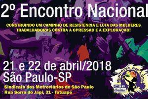 ATUALIZAÇÃO: Encontro do Movimento Mulheres em Luta discute crise, direitos e violência
