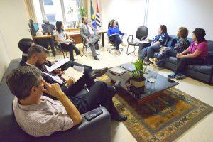 23/04/18 – Reunião com a Diretoria do Foro da JF