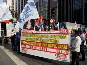 Nota da CSP-Conlutas em apoio aos caminhoneiros, contra a intervenção e por uma greve geral