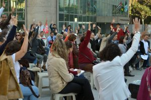 19/06/18 – Assembleia no TRF discute problemas no edital do plano de saúde