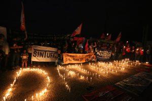 19/06/18 – Manifestação em Brasília por uma possível votação da data-base no Supremo.