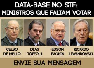 Data-base: Envie sua mensagem aos ministros do STF
