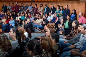 20/09/18 – Assembleia setorial no TRE que debateu plano de saúde