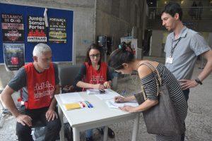 17/10/18 – Eleição para diretoria de base no Fórum Trabalhista Ruy Barbosa
