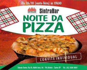 Noite da pizza na subsede, dia 26: compre seu convite