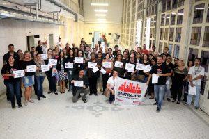 Servidores na Baixada dizem não à 'reforma' da Previdência e ao desmonte da JT