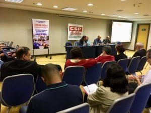 Seminário avalia ameaças do governo Bolsonaro e desafio de unir trabalhadores