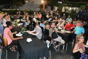 Festa em Santos teve muita alegria e emoção em homenagem a servidor