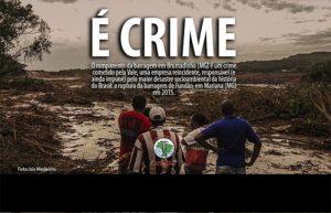 Atos denunciam crime ambiental da Vale em Brumadinho nesta sexta