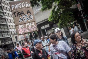 Greve dos servidores municipais de São Paulo contra Sampaprev completa 10 dias