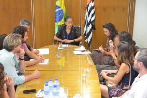 28/01/19 – Reunião com a presidente do TRT-2