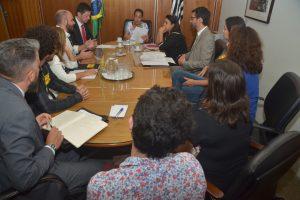 27/02/19 – Reunião com a presidente do TRT-2 – Consolação
