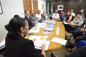 19/02/19 – Reunião com a presidente do TRT-2 Consolação