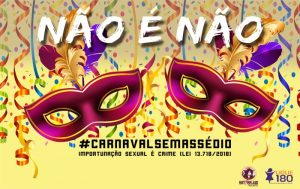 Coletivo de Mulheres reafirma luta contra o assédio no carnaval