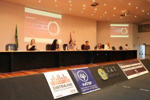 13/03/19 – Seminário sobre assédio sexual no Fórum Trabalhista Ruy Barbosa