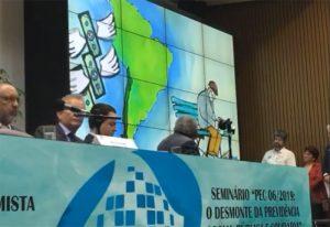 Frente Parlamentar em defesa da Previdência é relançada contra PEC de Bolsonaro