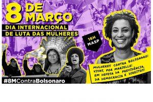 8M: Mulheres voltam às ruas contra a 'nova previdência' e por direitos