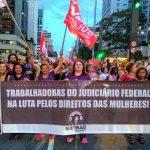 8 de Março foi marcado por protestos em defesa da aposentadoria e dos direitos