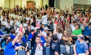 Congrejufe aprova greve geral em defesa das aposentadorias